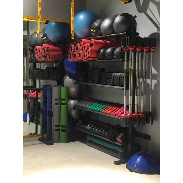قفسه تجهیزات ورزشی پرتابل 5 طبقه PSD