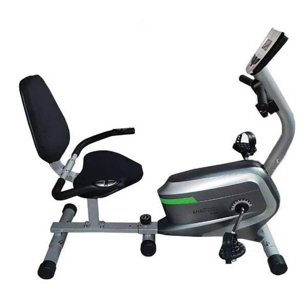 دوچرخه ثابت خانگی پشتی دار EMHFitness 6300