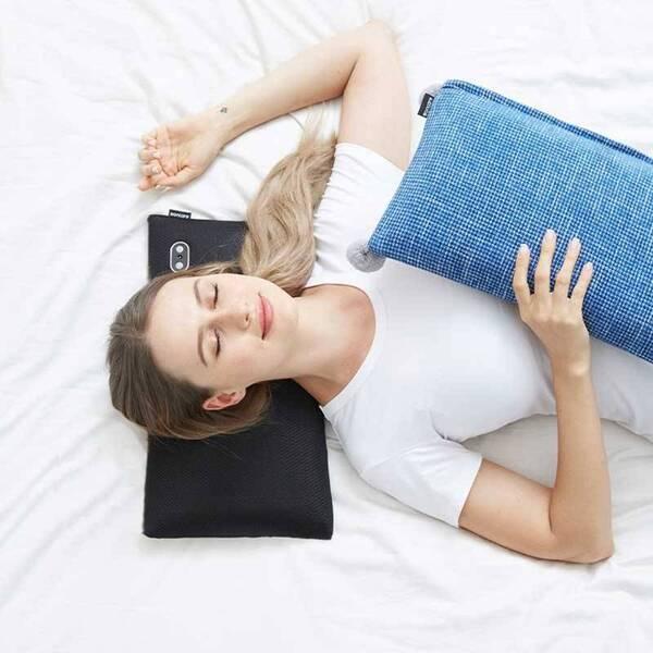 بالش ماساژور شارژی حرارتی بن کر Boncare Massage-Pillow S1 warm-blue (5)