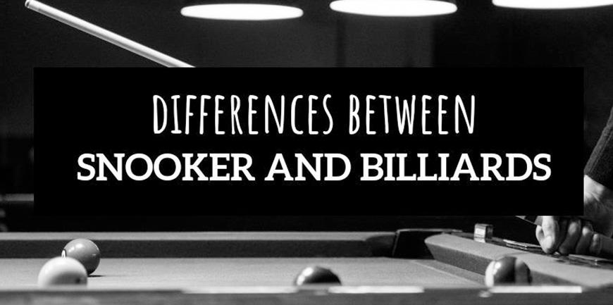 بررسی تفاوت های بیلیارد و اسنوکر