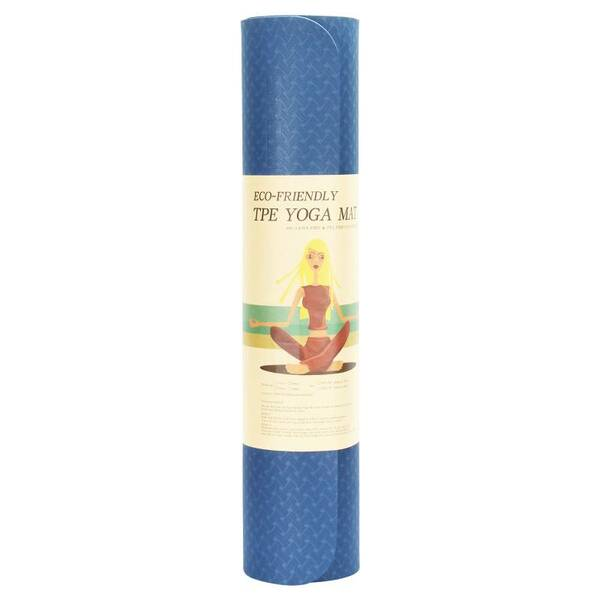 مت یوگا یک رو 6 میلیمتری Yoga Mat TPE (5)