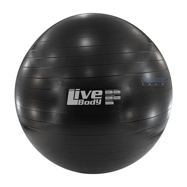 توپ جیم بال ایروبیک LiveBody Gymball