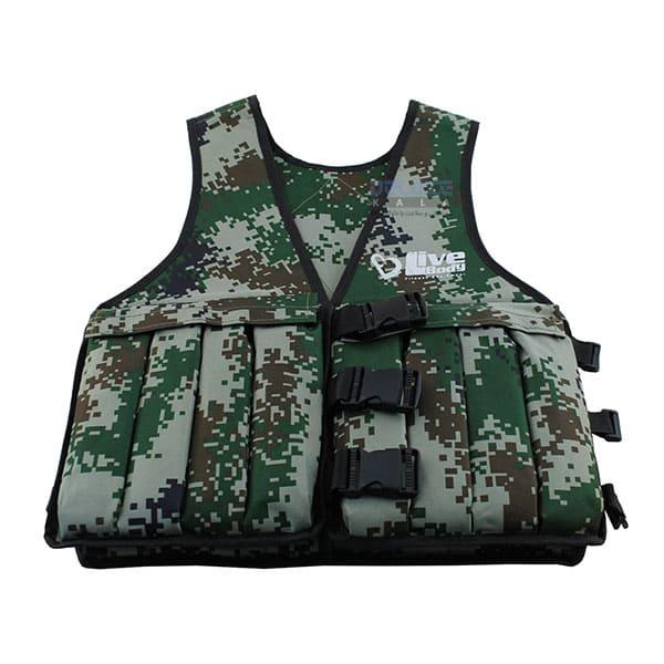جلیقه وزن دار 10 کیلوگرمی LiveBody Vest (2)