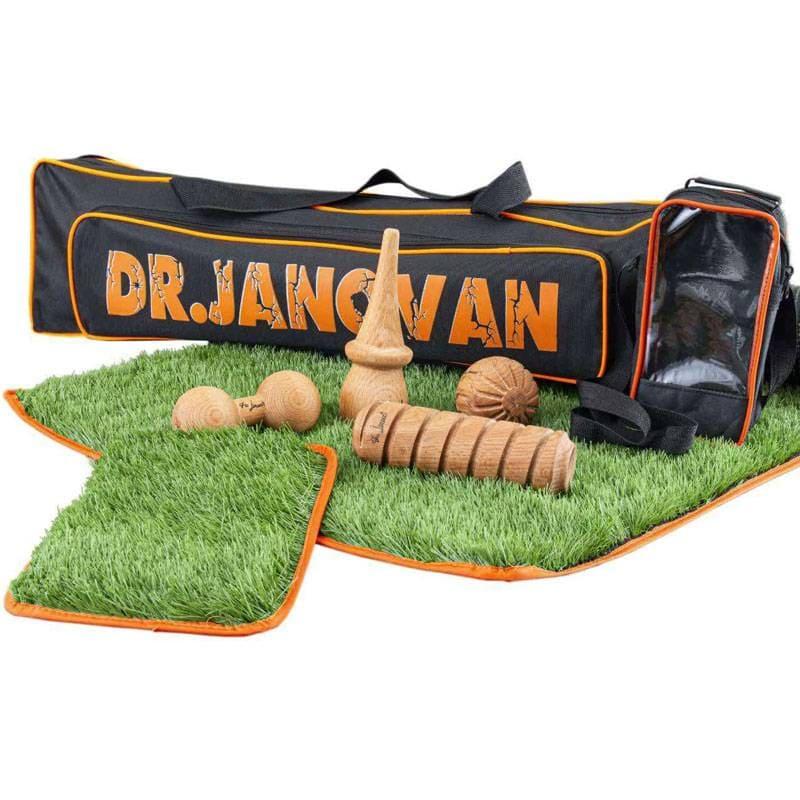 پکیج ابزار چوبی ماساژ و زیرانداز ورزشی Janovan (3)