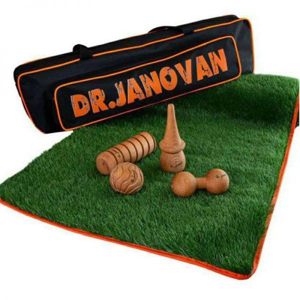 پکیج ابزار چوبی ماساژ و زیرانداز ورزشی Janovan (4)