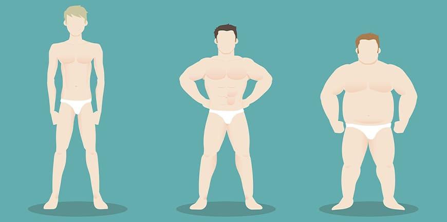 آیا نوع بدن خود را میشناسید؟ انواع فرم بدن و گروه های بدنی